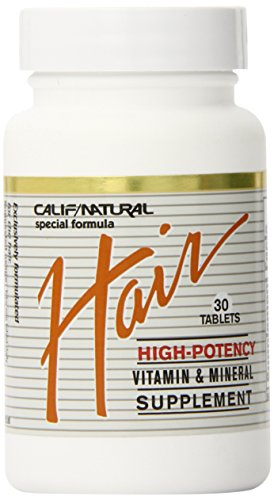 California Natural Hair Supplement, 30 Count