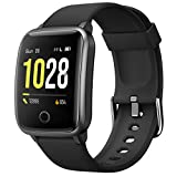 Willful Smartwatch Women Men Smartwatch Sport Watch Pedometer Heart Rate Monitor Smart Watch Waterproof Stopwatch Alarm GPS Shared 11 Sport Modes for iPhone Android Telephone