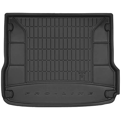 DBS Tapis de Coffre Auto - sur Mesure - Bac de Coffre pour Voiture - Rebords Surélevés - Caoutchouc Haute qualité - Antidérapant - Simple d'entretien - 1766535