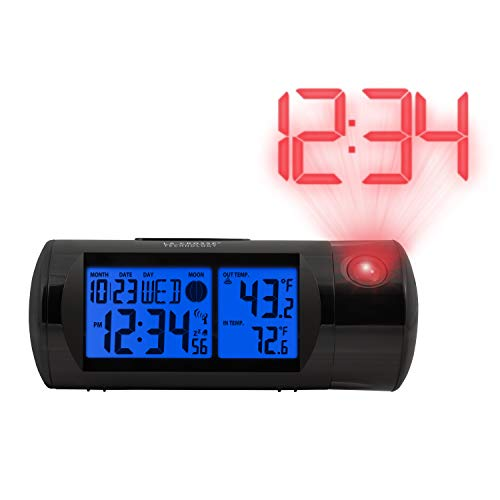 La Crosse Technology 616-143 Projection Alarm Clock with Backlight with