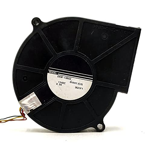 Safety and trust D09F-13BS2 13V Blower 0.5A 4-Wire Fan Projector 55% OFF Blow Cooling