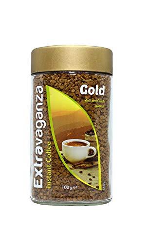Extravaganza - Café soluble Gold, 100 g (lote de 6)