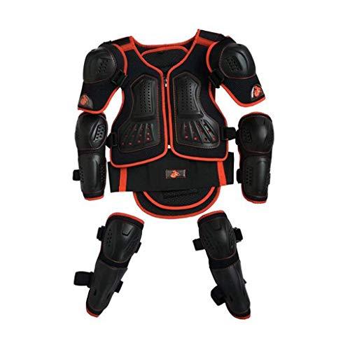 ZGYQGOO Dirt Bike Gear Für Kinder Kinder Ganzkörper Rüstung Fahrrad Rüstung Weste Pe Tough Shell For1.3n / 1.5m / 1.7m Radfahren Skifahren Reiten Skateboardfahren Jugend Brustschutz Motocross