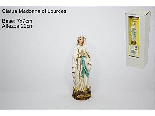 DUE ESSE DISTRIBUZIONI S.R.L. Statua Madonna Lourdes 22cm GI002063