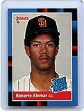 Roberto Alomar Rookie Card 1988 Donruss Rated...