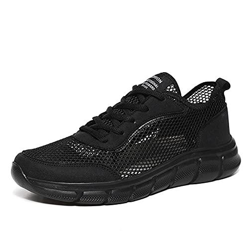 ZZLHHD Zapatillasdeplayaantideslizantes,Breathable,easyandcomfortablesportscasualshoes-Black1_41,Zapatillasdeentrenamiento