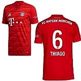 adidas FCB FC Bayern München Trikot Home Heimtrikot 2019 2020 Herren Thiago 6 Gr S