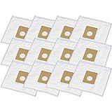 12 bolsas para aspiradoras Panasonic MC 571 / MC571, MC 572 / MC572, MC 631 /...