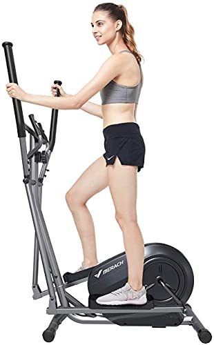 Equipo Home Gym Cycle Traine- Entrenador elíptico y bicicleta estática y Easy Computer Dual Trainer 3 en 1 Cardio Home Office Fitness Workout Machine Blanco Asiento de entrenador Multifunción Home Aer