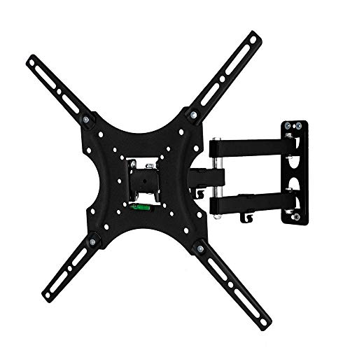 Sulida Universal TV Stand TV Wall Mount Tabletop TV Stand Base for Most 26-55 inch TVs, Height Adjustable