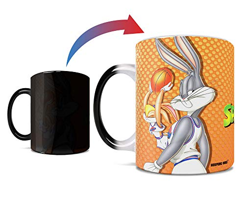 Space Jam – Bugs and Lola - Morphing Mugs Heat Sensitive Mug – Color Changing Heat Reveal Coffee Mug – by Trend Setters Ltd.