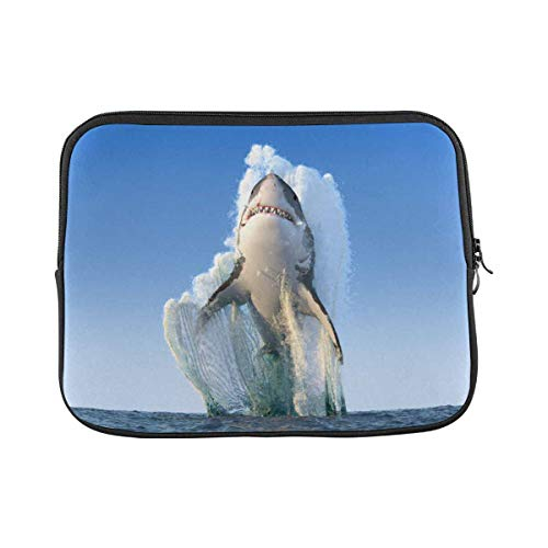 Jump Water Shark Laptop Sleeve Case 14 Inch Briefcase Cover Protective Notebook Laptop Bag