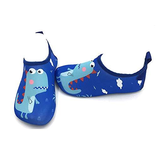 CheChury Niños Niña Zapatos de Agua Descalzo Barefoot Respirable Zapatos de Playa Aire Libre Calcetines de Natación Piscina Surf Yoga Zapatos de niño natación Niños