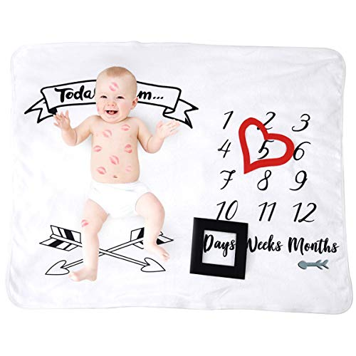 Puseky Bebé Mensual Hito Manta Envoltura Envoltura