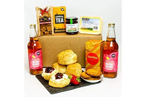 Cream Tea Hamper - Luxury Devon Produce