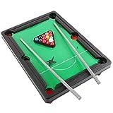 Zonfer 1pc De Mesa Juego De La Piscina, Mini Billar Snooker Conjunto De Juguete, Juegos De Mesa De Interacción para Partido De Los Niños