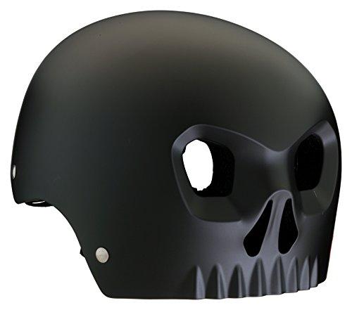Mongoose Street Hardshell Skull Youth Bike Helmet, Black