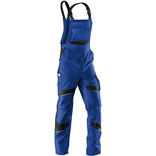 Kübler 32505365-4699-54 Arbeits-Latzhose Activiq, kornblumenblau/schwarz, 54