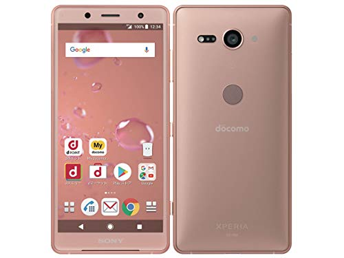 docomo Xperia XZ2 Compact SO-05K Coral Pink ピンク 白ロム