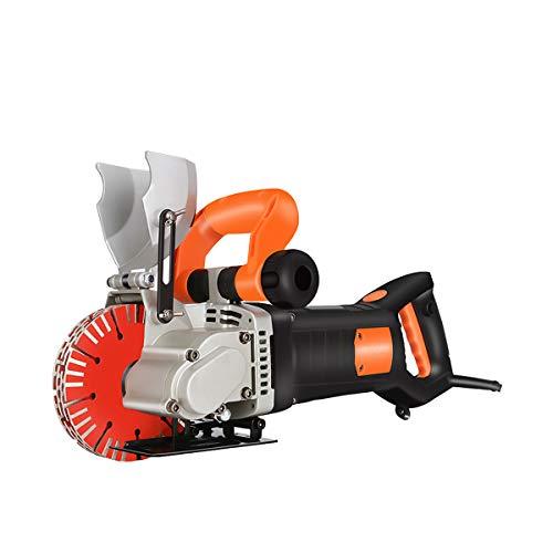 Elektrische Wandjägermaschine, 4800W 42mm Wandrillenschneidemaschine Schlitzmaschine für Ziegel Granit Marmor Betonschneider Notcher Groover