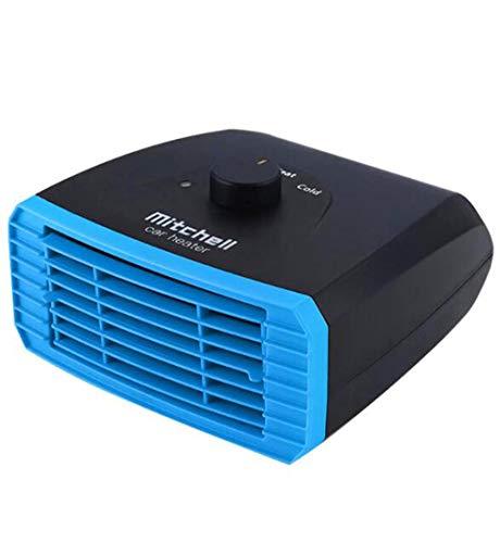 Auto Heizlüfter, PTC Heizung und Kühlventilator 2-in-1 12V 150W 3 Sekunden Schnell Erhitzen für Auto Defroster Demister Auto, Einstecken in Zigarettenanzünder