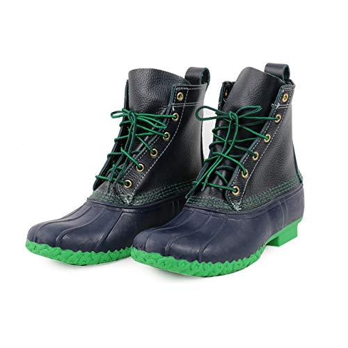 [エルエルビーン] 【アウトレット】 us9(27cm) Boots ブーツ ビーンブーツ 6ホール ネイビー&グリーン [並...