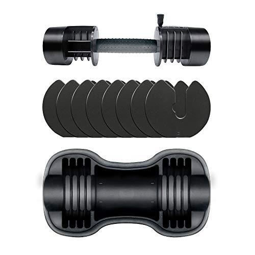 ATIVAFIT Adjustable Dumbbell 27.5 lbs Weight Set for Gym Home (Single)