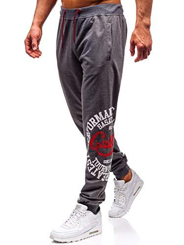 Jogger Pantaloni Spesso in Pile di Cotone Uomo Pantaloni Elastico Autunno Inverno Pantaloni Della Tuta