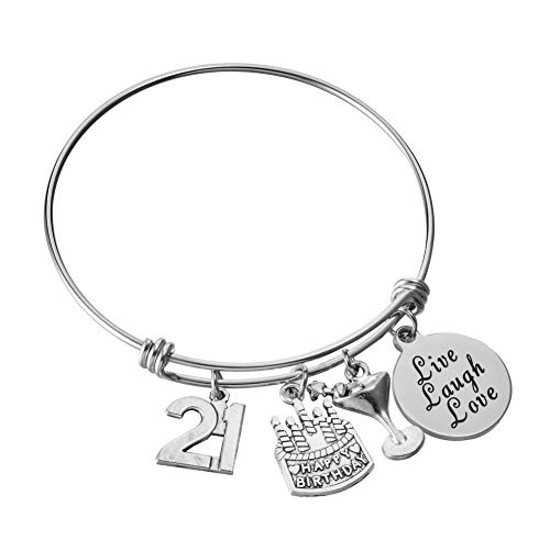 21st Birthday Jewelry Gifts for Women...