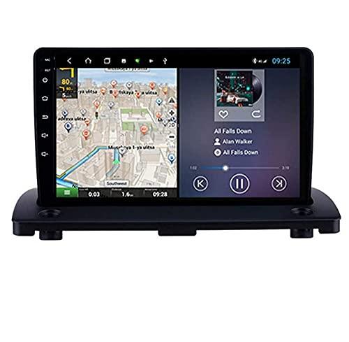 ZHFF Compatible Volvo XC90 2004-2014 Sat Nav Doble DIN Car Stereo Radio Navegación GPS Pantalla táctil de 9 Pulgadas Unidad Principal Reproductor Multimedia Receptor de Video WiFi Bluetooth