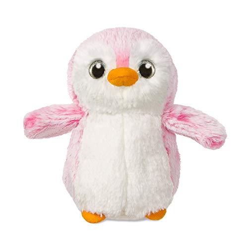 Aurora World 73887 - knuffeldier - pompom pinguin, 6 inch / 15 cm, roze