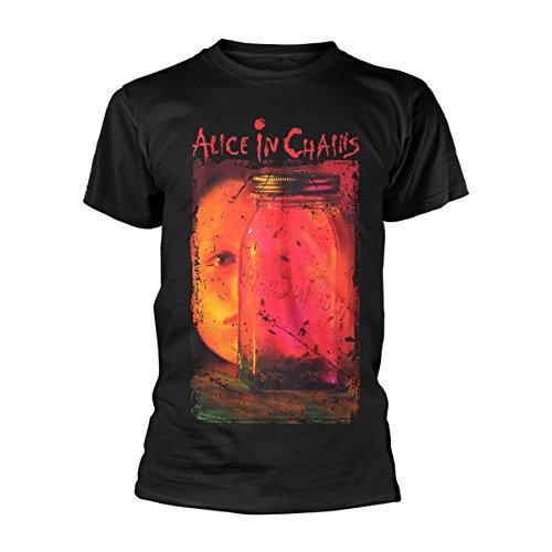 Alice in Chains Jar of Flies Layne Staley Rock Ufficiale Uomo Maglietta Unisex (Large)