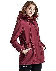 アウトドア コート レディース ジャケット 二点セット( フリース コートを含む) ファッション 秋冬 防水 防寒 パーカー 通勤 OL風