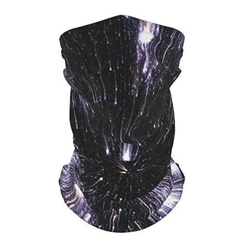 Sombrero Al Aire Libre Seda Diadema Galaxy Velocidad De La Vida Espacio Viaje Temático Fantástico Galaxy Wars Universo Ciencia Ficción Futurista Negro Blanco Reutilizable Cuello Polaina Cara Bufanda