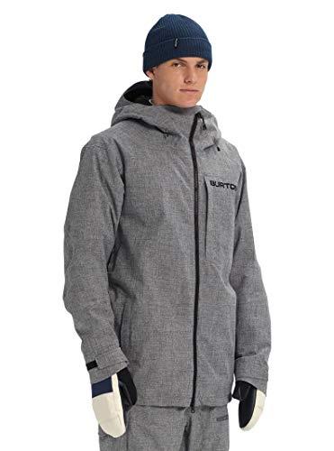 Burton Men's Gore-Tex Radial Shell Jacket, Bog Heather, Medium