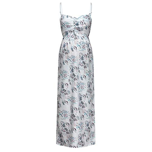 Umstandskleid Damen Spitzenkleid Schwangere Fotografie Kleidung Frauen Schwangerschaftskleid Mutterschaft Kleidung Blumenmuster Schlingenkleid Sommerkleid Strandkleid