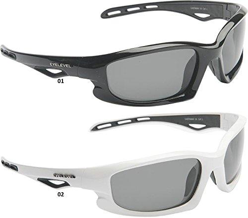 Eyelevel Occhiali da Sole POLARIZZATI Castaway - 01, Gris, Black, 3