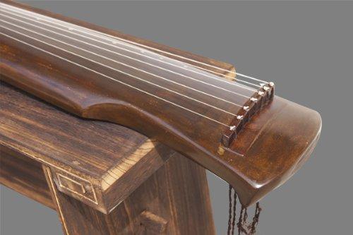Exquisit Chinesischen 7Saite Instrument Alt Tanne Holz Qin (Instrument) Zither Gu Qin