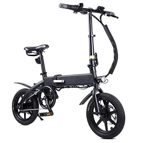 Bicicleta eléctrica Plegable/E-Bike/Scooter 250W Ebike con Rango de 220 km Velocidad máxima Rango de conducción de 20 km/h