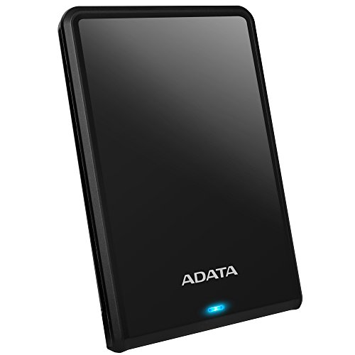 ADATA 2.5インチ ポータブルHDD 11.5mm スリムタイプ USB3.0対応 2TB ブラック AHV620S-2TU3-CBKEC