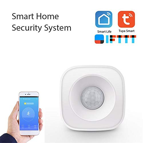 Wi-Fi-Sensor, Bewegungs-Sensor, Alarme oder Trigger-Your Lights einzuschalten, Sensor Alarm Kompatibel mit Alexa, Haus für Haus Haus