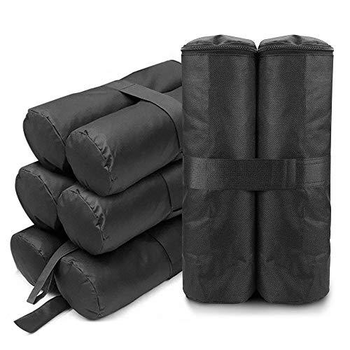 dibikou 4 Pack Gazebo gewichten zak, Gazebo zand gewichten been voor Pop up luifel Tent zon schaduwen, paraplu, ankerpaviljoen, trampolines (zand niet inbegrepen)