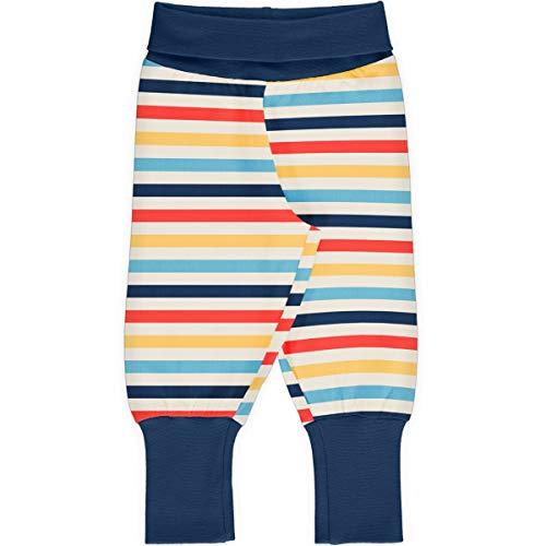 Maxomorra Baby Rib Pants Stripe Stripe - Milk 110/116