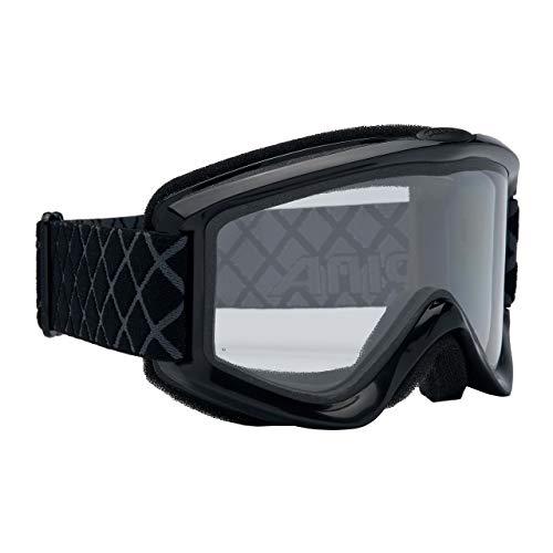 Alpina Unisex - Erwachsene Skibrille Smash 2.0 DH, Rahmenfarbe: Black, Linsenfarbe: Dl Clear S0, One size, 7075132