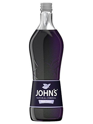 Johns Natural Black Currant Sirup 0,7 Liter