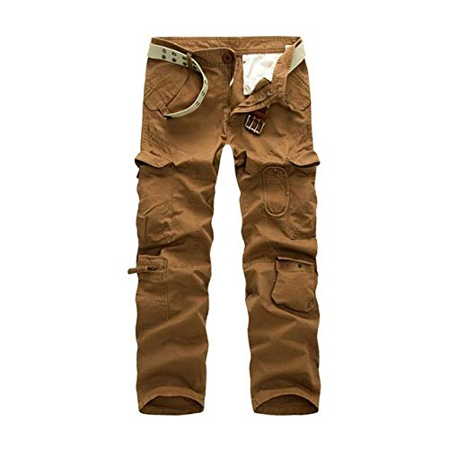 N/ A Endurance Mens Cargo Combat Arbeitshose Army Combat Arbeitshose Herbst Taktische Militärhose Straight Baggy Multi Pocket Workwear