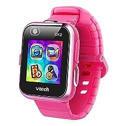 top 10 smart kid watch VTech KidiZoom smartwatch DX2, pink