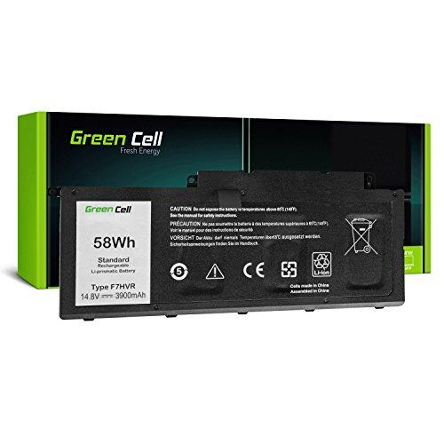 Green Cell F7HVR Laptop Battery for Dell Inspiron 15 7537 17 7737 7746, Vostro 14 5459 (Li-Polymer Cells 3900mAh 14.8V Black)