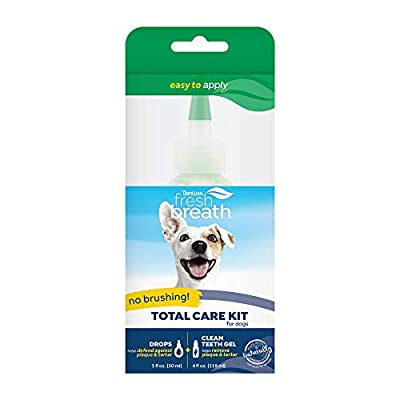 Fresh Breath by TropiClean No Brushing Oral Care Gel for Pets, Made in USA