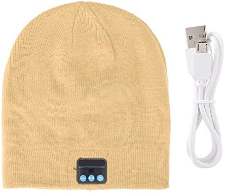 Wireless BT Hat Portable Warm Wireless BT Music Stereo Headset Hat with Camera Function Bluetooth product image